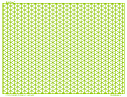 Isometric Grid - Graph Paper, 4/inch Green, , Land Letter